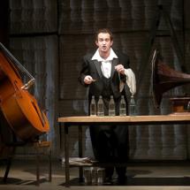 "Konstantin Khabenskiy in ""The Double Bass"""