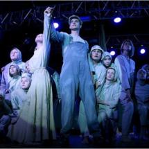 The Juvenile Sea performance of Voronezh Studio of Konstantin Khabenskiy