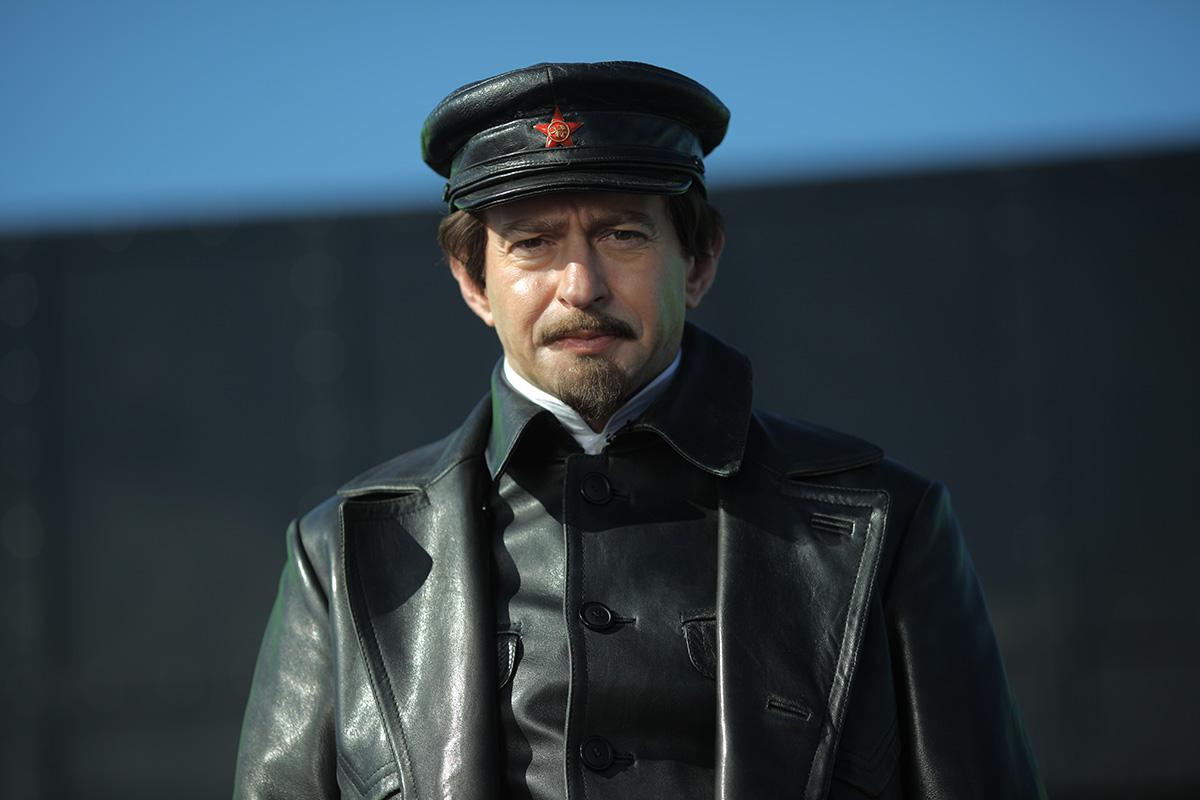 Konstantin Khabenskiy starring as Trotsky. Photo by Channel One Russia