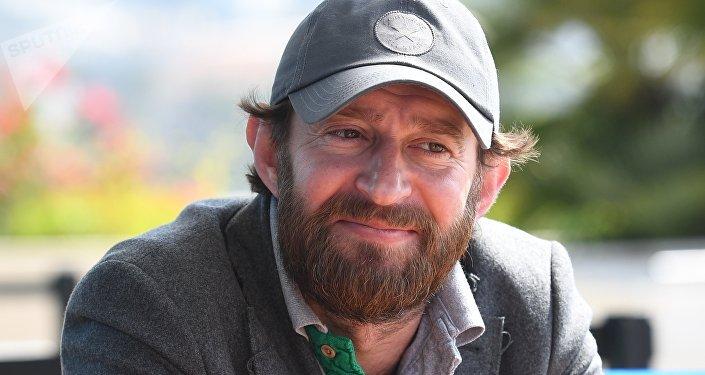Konstantin Khabenskiy in Cannes, 2018