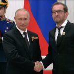 Konstantin Khabenskiy and Vladimir Putin